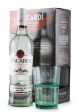 Rom Bacardi Superior White, Dry&Light Tasting rum, Perfect for mixing with sodas and fresh juices + Pahar (0.7L)