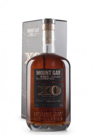 Rom Mount Gay Rum XO, Island of Barbados + Cutie Cadou (0.7L)