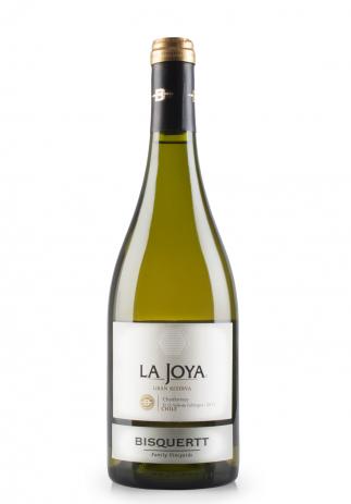 Vin Bisquertt, La Joya Chardonnay, Gran Reserva, D.O. Valle de Colchagua, 2015 (0.75L)