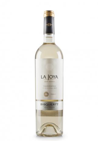 Vin Bisquertt, La Joya, Gran Reserva Gewurztraminer, D.O. Valle de Colchagua, 2015 (0.75L)