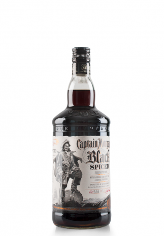Rom Captain Morgan Black Spiced (1L) Image