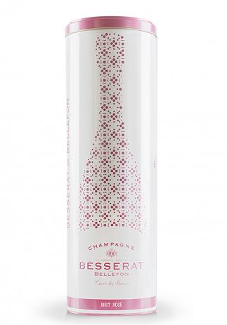 Champagne Besserat de Bellefon, Cuvée des Moines, Brut Rosé + Cutie Cadou (0.75L)