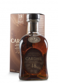 Whisky Cardhu, Single Malt Scotch Whisky, 18 ani + Cutie Cadou (0.7L)
