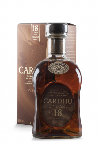 Whisky Cardhu, Single Malt Scotch Whisky, 18 ani + Cutie Cadou (0.7L) (3343, SINGLE MALT SCOTIA CUTIE CADOU)