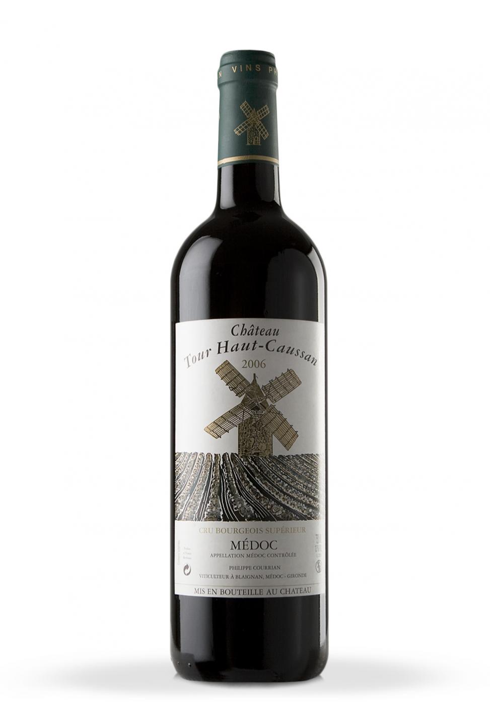 Vin Chateau Tour Haut-Caussan, Medoc 2006 (0.75L)
