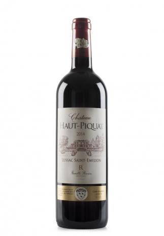 Vin Château Haut-Piquat, Lussac Saint-Emilion, 2014 (0.75L) Image