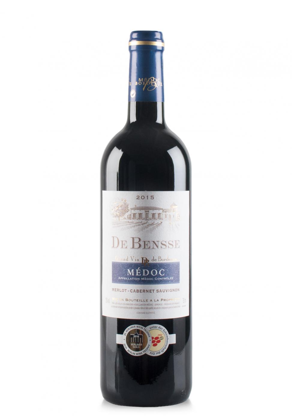 Vin De Bensse, A.O.C. Medoc 2015 (0.75L)