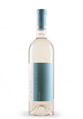 Vin Domeniile Vinju Mare, 5 Motive, Tamaioasa Romaneasca (0.75L) Image