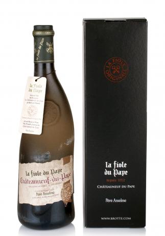 Vin La Fiole du Pape, A.O.C. Chateauneuf-du-Pape + Cutie Cadou (0.75L) Image