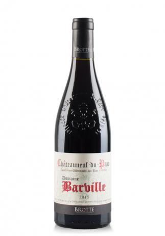 Vin Domaine Barville, A.O.C. Châteauneuf-du-Pape, 2015 (0.75L) (3400, DOMAINE BARVILLE FRANTA)