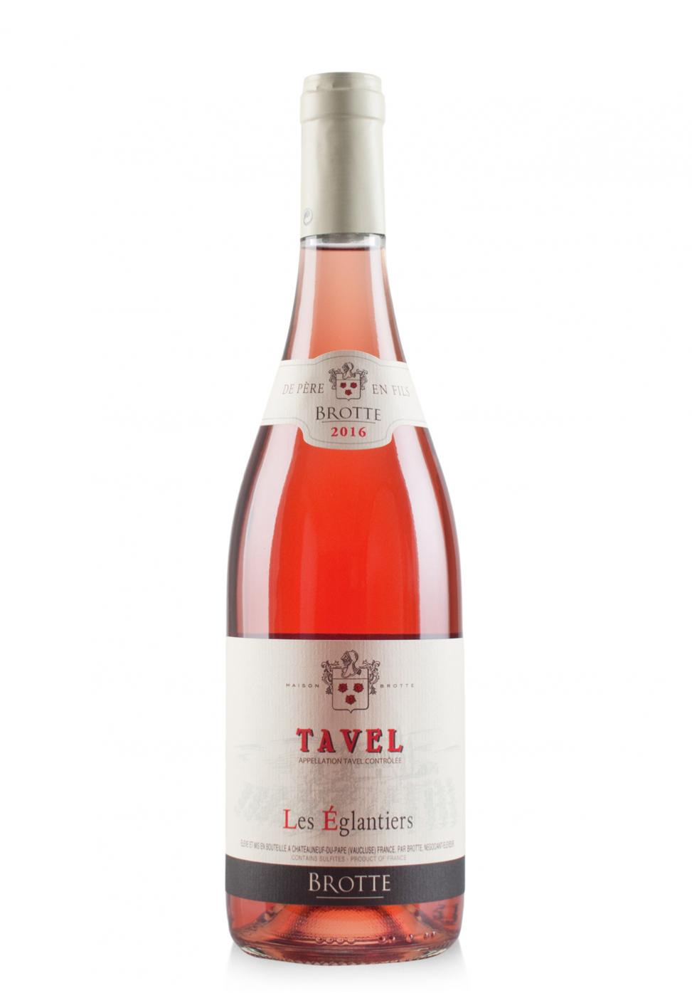 Vin Maison Brotte, Les Eglantiers, A.O.P. Tavel, 2016 (0.75L)