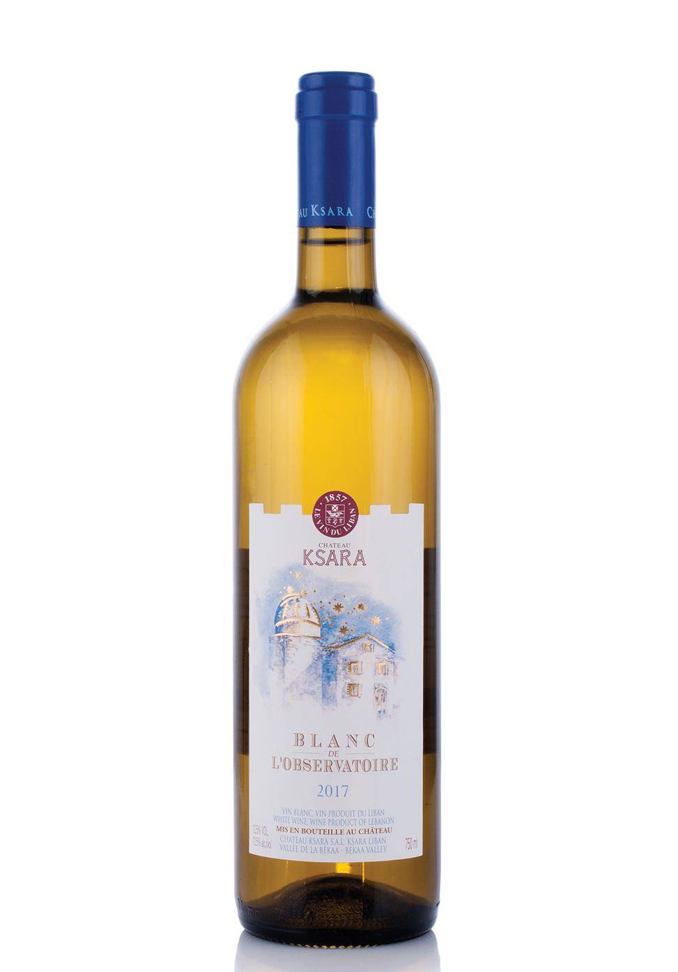 Vin Chateau Ksara, Vallee De La Bekaa, Blanc De L'Observatoire 2015 (0.75L)