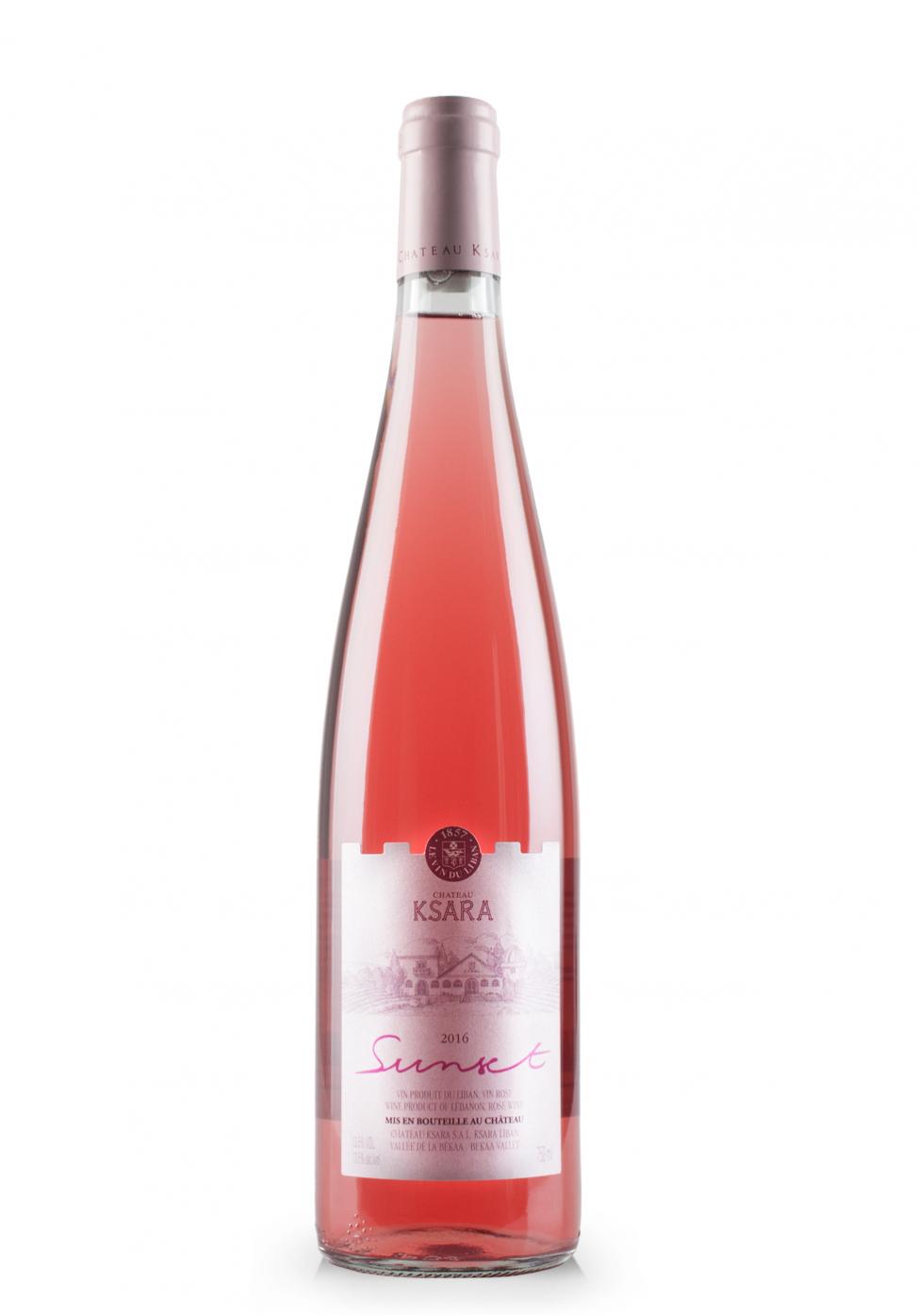 Vin Château Ksara, Vallée de La Bekaa, Sunset Rose 2017 (0.75L)