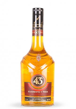 Licor 43, Cuarenta Y Tres (1L) (604, LICHIOR 43 CUARENTA Y TRES)