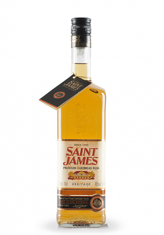 Rom Saint James Heritage (0.7L) (3087, ROM MARTINICA AGED IN OAK BARRELS)