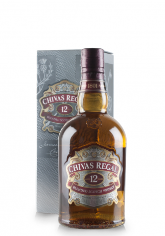 Whisky Chivas Regal 12 ani, Blended Scotch Whisky (0.7L)