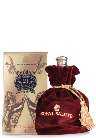 Whisky Chivas Royal Salute 21 ani, The Ruby Flagon (0.7L)