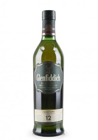 Whisky Glenfiddich 12 ani (0.7L) (587, SINGLE MALT SCOTCH WHISKY)