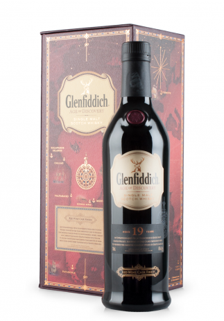 Whisky Glenfiddich 19 ani, Red Wine Finish (0.7L)