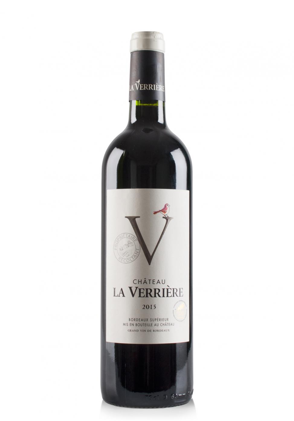 Vin Château La Verrière, Bordeaux Superieur 2016 (0.75L)