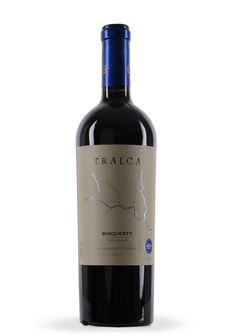 Vin Tralca, Bisquertt Family Vineyards, 2007 (0.75L)