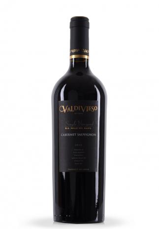 Vin Valdivieso, Cabernet Sauvignon Single Vineyard, 2010 (0.75L) (1460, VIN ROSU SEC VALLE DEL MAIPO)