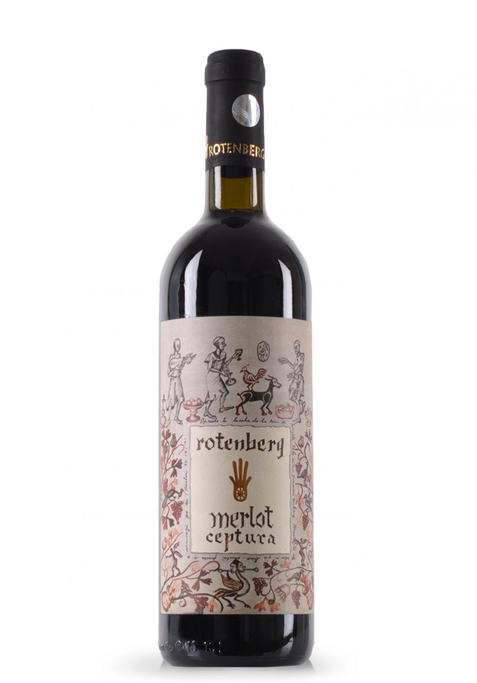 Vin Merlot Rotenberg Clasic, Ceptura (0.75L)