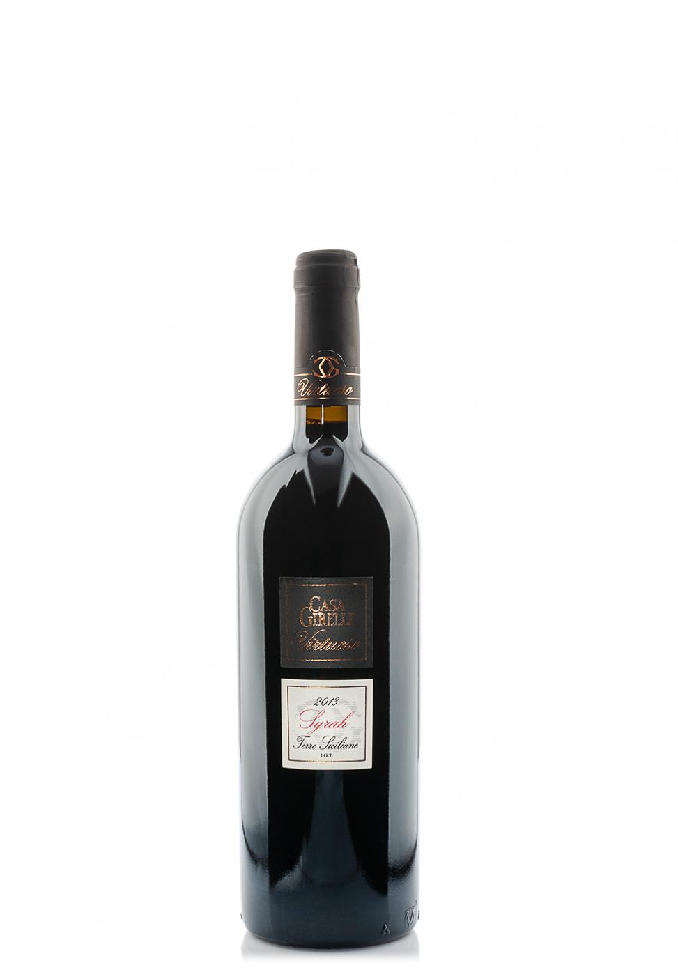 Vin Casa Girelli, Virtuoso, IGT Sicilia, Syrah 2014 (0.75L)