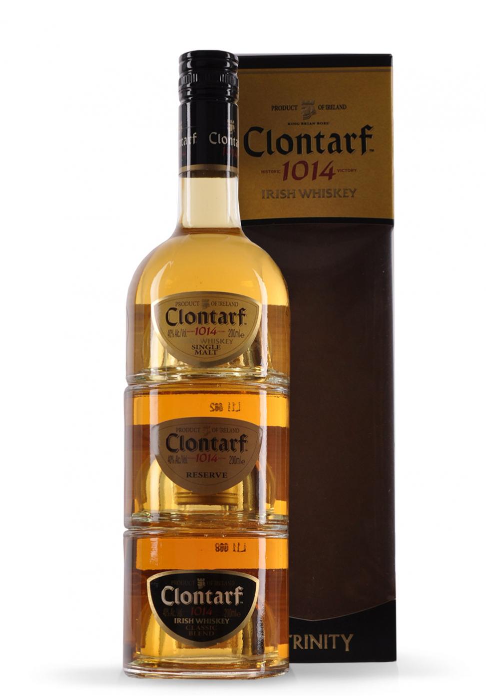 Whisky Clontarf Irish Trinity (3 x 200ml)