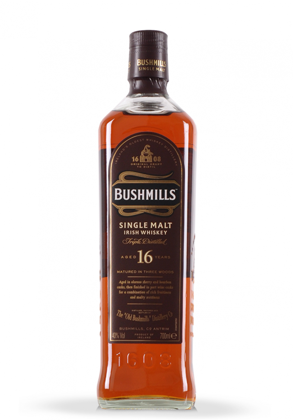 Whisky Bushmills 16 Year Old Single Malt (0.7L)
