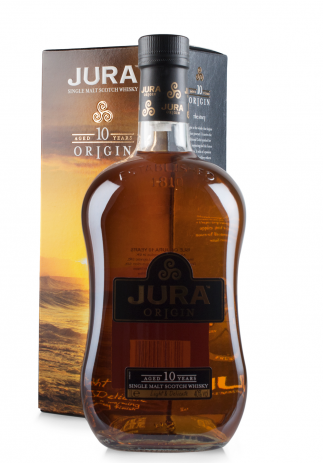 Whisky Isle of Jura Origin 10 ani, Single Malt Scotch (1L)