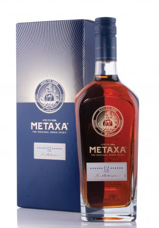 Brandy Metaxa 12 Stele, The Original Greek Spirit (0.7L) Image