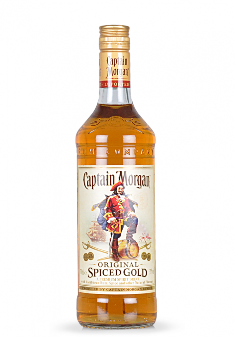 Rom Captain Morgan Spiced Gold (0.7L)