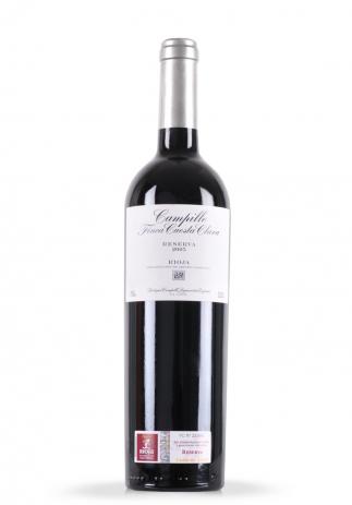Vin Campillo Finca Cuesta Clara, DOCa Rioja, Reserva 2005 (0.75L) (2159, VIN ROSU SEC RIOJA)