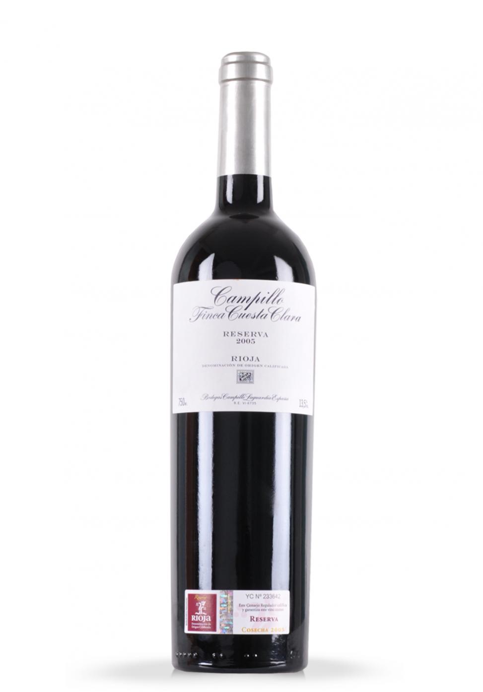 Vin Campillo Finca Cuesta Clara, DOCa Rioja, Reserva 2005 (0.75L)