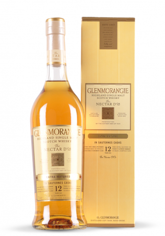 Whisky Glenmorangie Single Malt 12 ani, The Nectar d'Or (0.7L)