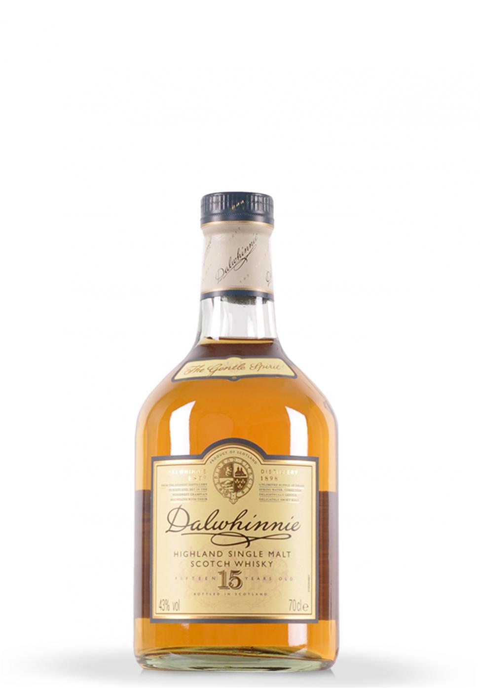 Whisky Dalwhinnie, Single Malt Scotch 15 ani (0.7L)