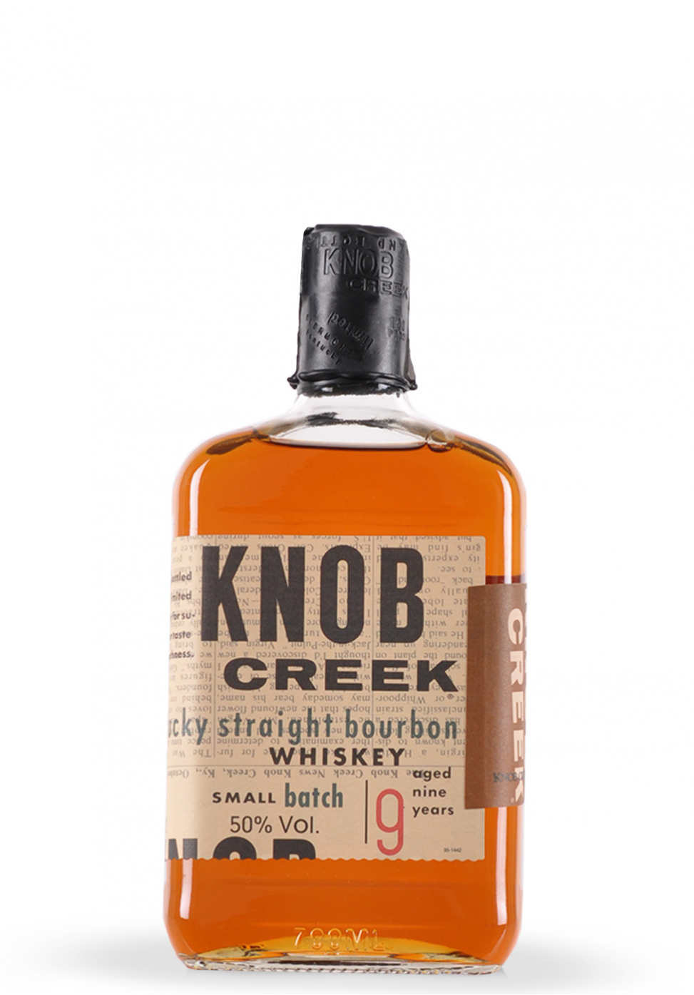 Whisky Knob Creek, Kentucky Straight Bourbon, Small Batch 9 ani (0.7L)