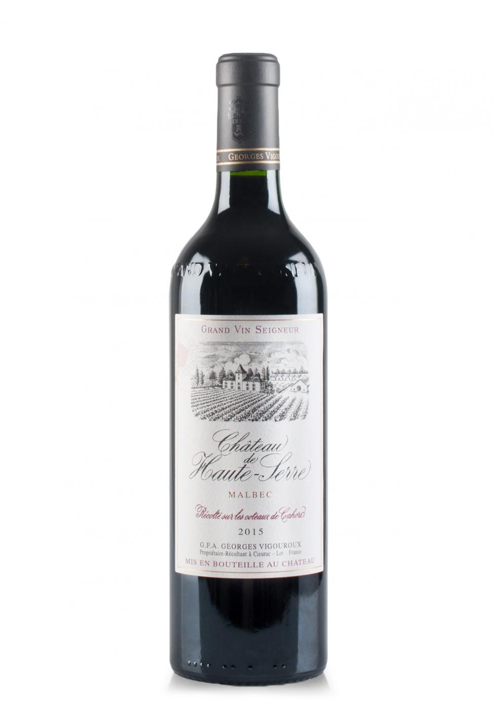 Vin Chateau de Haute-Serre, A.O.C. Cahors 2015 (0.75L)