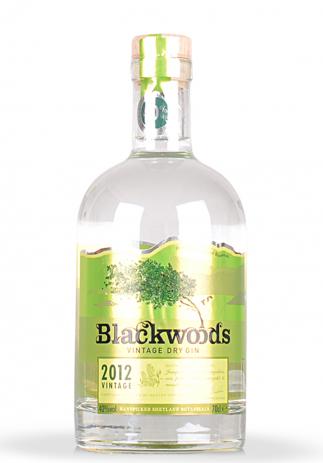 Gin Blackwoods Vintage Dry 2012 (0.7L) (3234, VINTAGE DRY GIN SHETLAND)