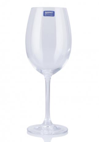 Set pahare de vin din cristal de Bohemia (6x450ml) (2603, PAHARE VIN)