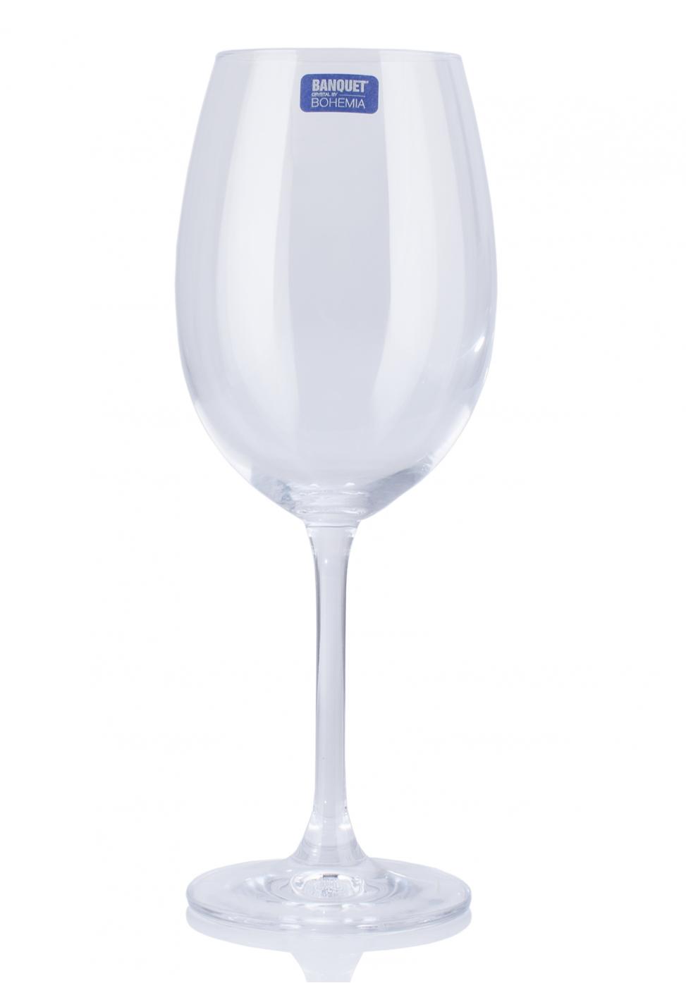 Set pahare de vin din cristal de Bohemia (6x450ml)
