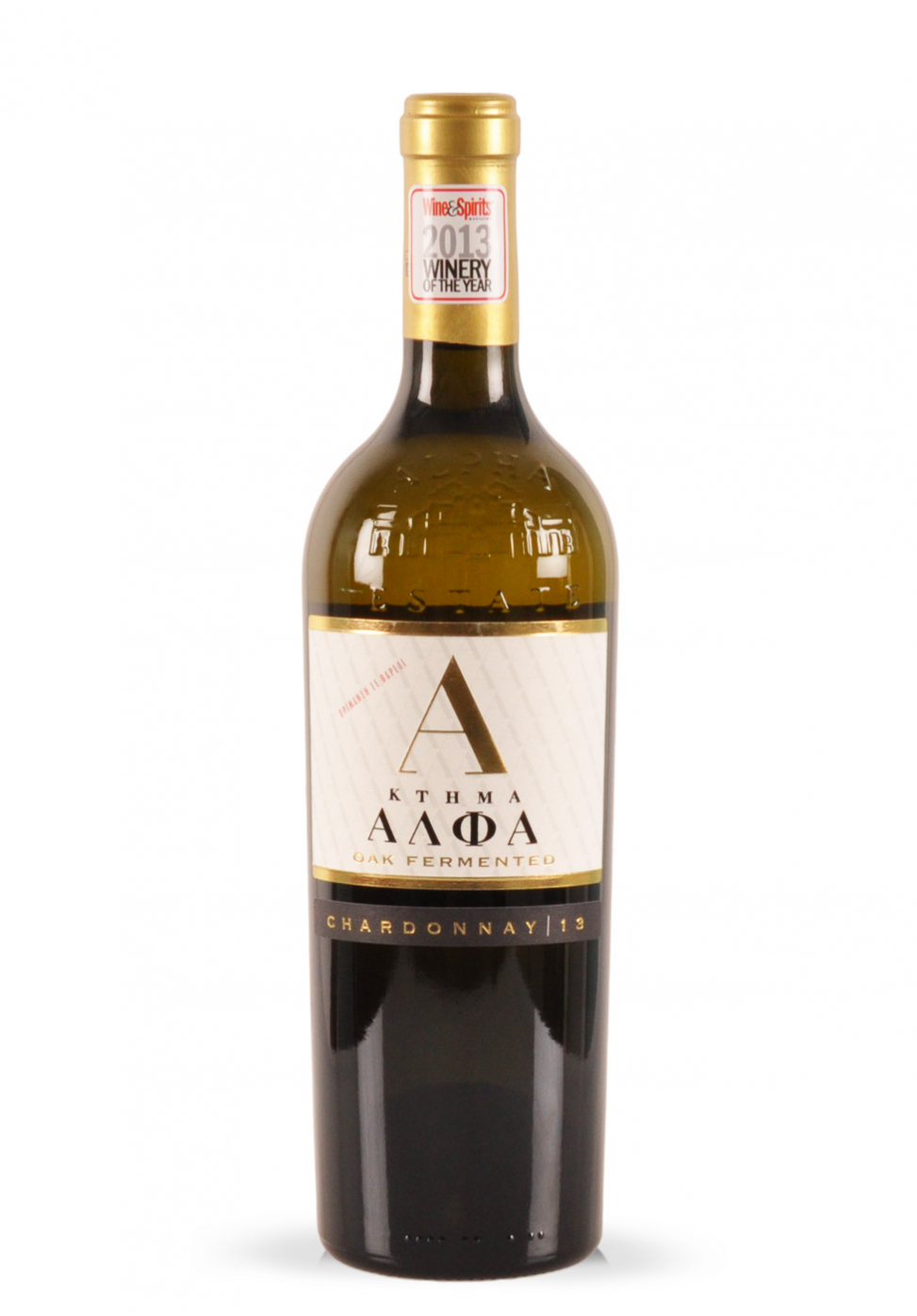 Vin Alpha Estate, Chardonnay Oak Fermented, 2013 (0.75L)