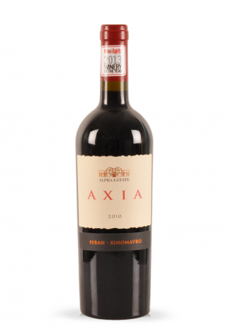 Vin Alpha Estate, Axia Red, Syrah Xinomavro, 2010 (0.75L) Image