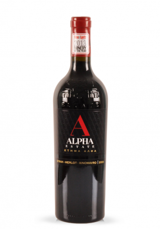 Vin Alpha Estate Red, 2009 (0.75L) (2774, VIN ROSU SEC IGP FLORINA)