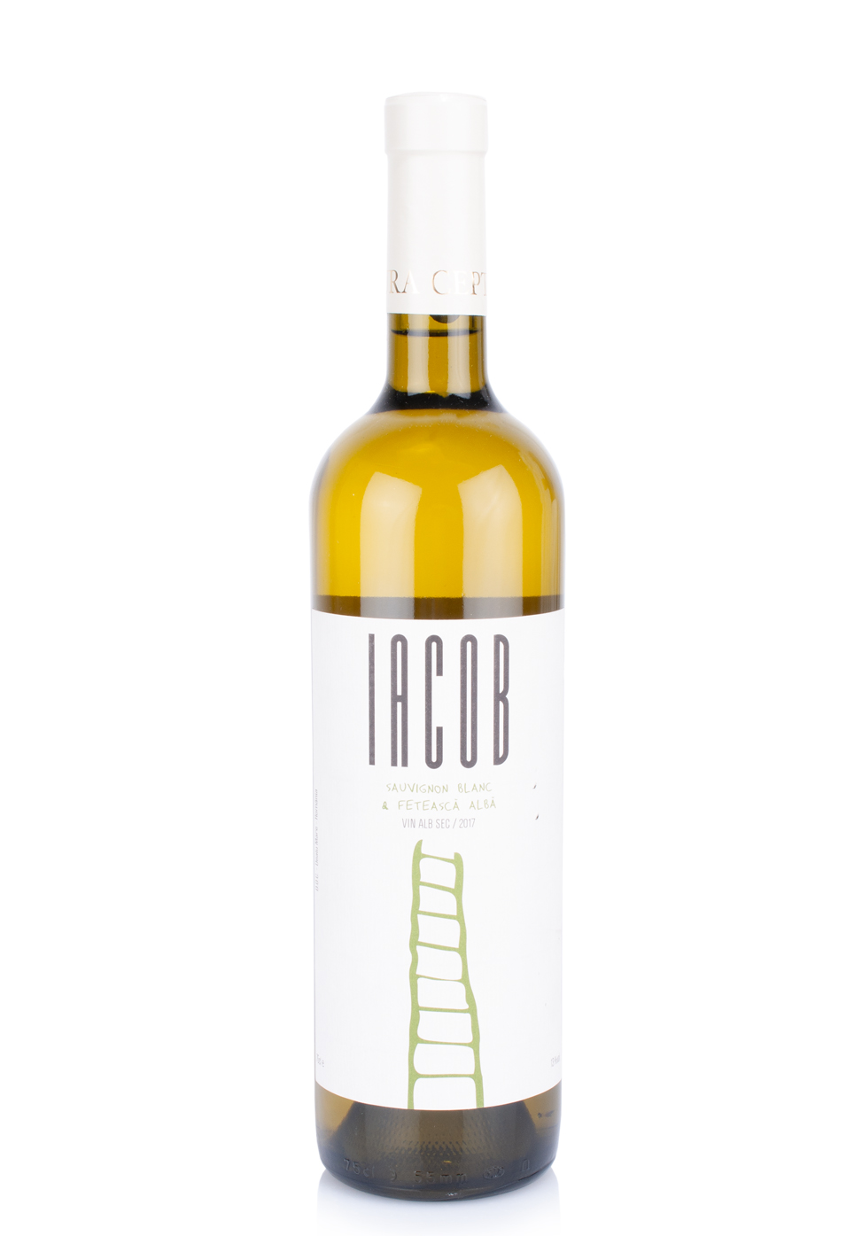 Vin Davino, Iacob Alb, Sauvignon Blanc & Feteasca Alba 2019 (0.75L)