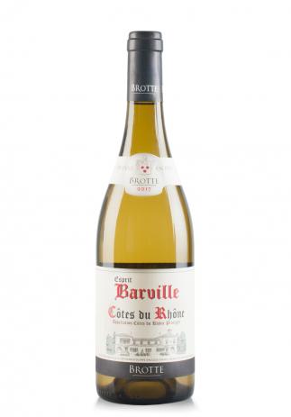 Vin Esprit Barville Alb, A.O.C. Côtes du Rhône 2017 (0.75L)
