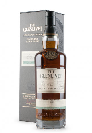 Whisky The Glenlivet 19 ani, Single Cask Edition (0.7L)