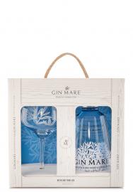 Set Gin Mare, Mediterranean Gin + Pahar (0.7L)