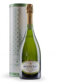 Champagne Besserat de Bellefon, Cuvée des Moines, Brut + Cutie cadou (0.75L)